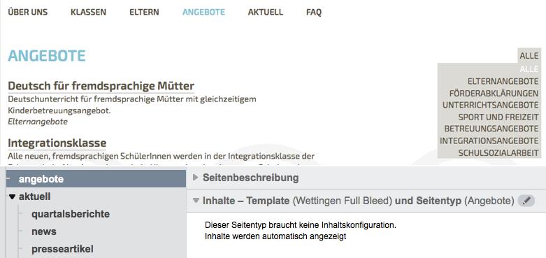 Bildschirmfoto von Angebote