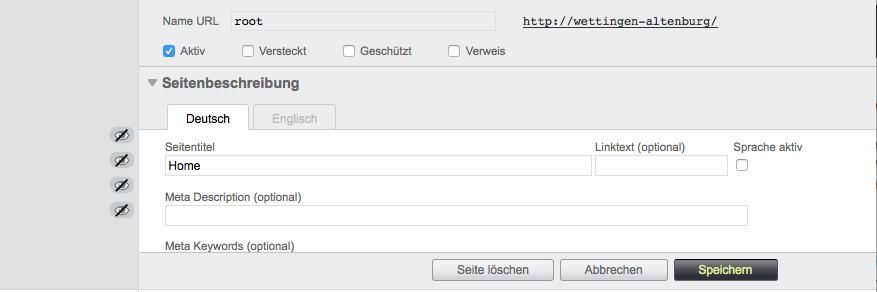 Bildschirmfoto von Seiteninhalte mehrsprachig
