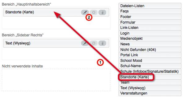Bildschirmfoto von Standort-Widget hinzufügen