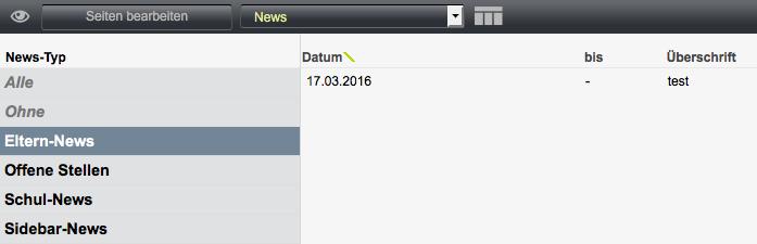 Bildschirmfoto von Verwaltungskategorien erstellen