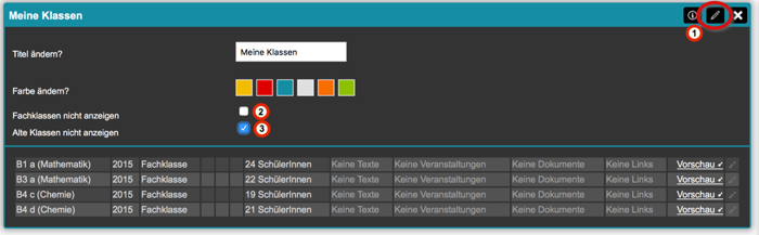 Bildschirmfoto von Auswahl